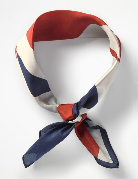 Silk Scarf - Union Jack