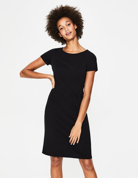 Phoebe Jersey Dress - Black