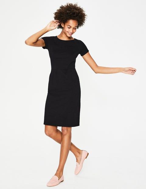 9da344817af79 Phoebe Jersey Dress - Black | Boden US