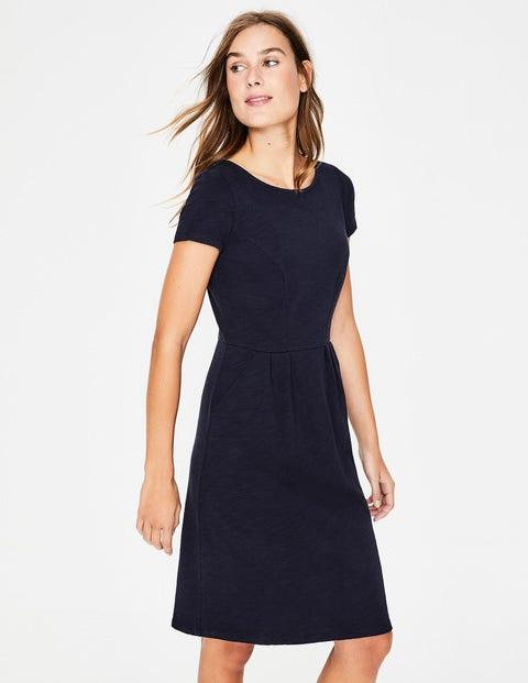 Phoebe Jersey Dress - Navy