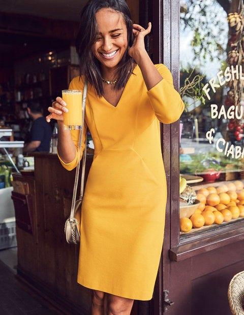 Bronte Jersey Dress - Happy
