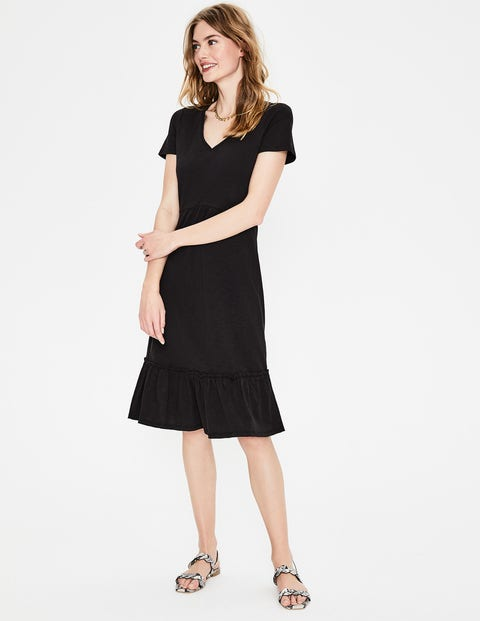 Melissa Jersey Dress - Black