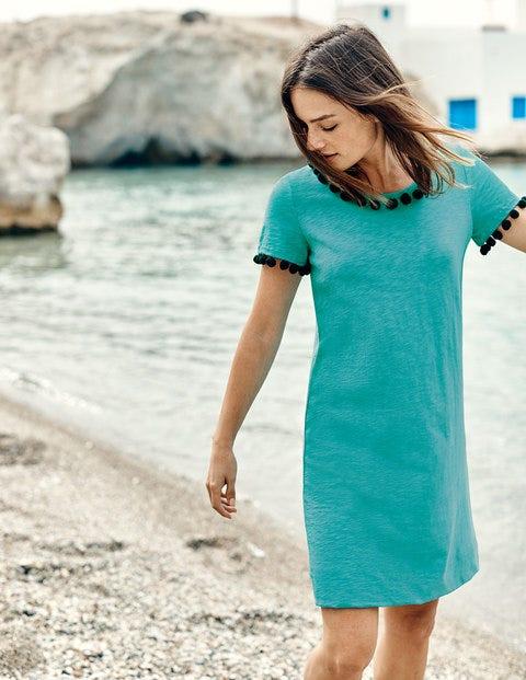Bridget Jersey Dress - Indian Ocean