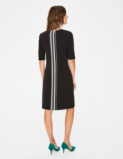 Jemima Ottoman Dress - Black