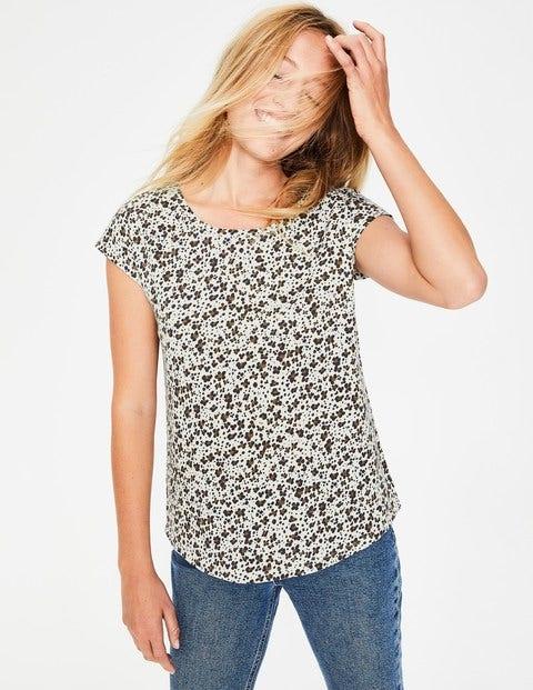 Robyn Jersey Tee - Leopard