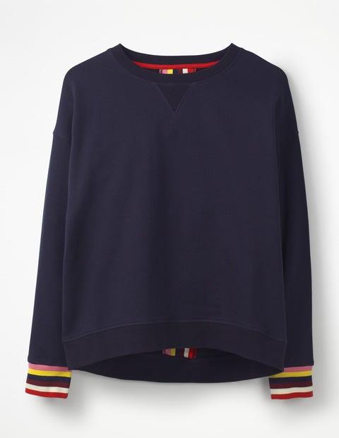 6b020b6c6fc Arabella Sweatshirt - Large Flock Spot | Boden AU