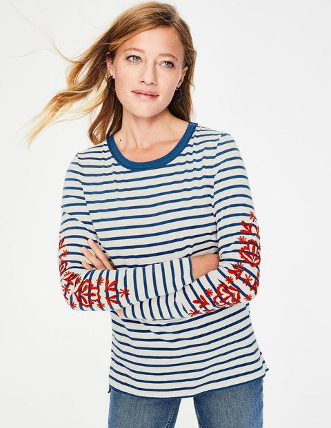 Make A Statement Breton - Embroidered Sleeve
