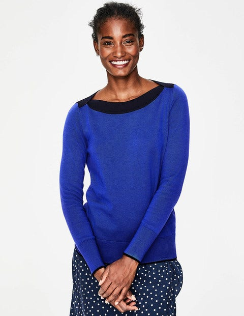 Louisa Jumper - Cobalt