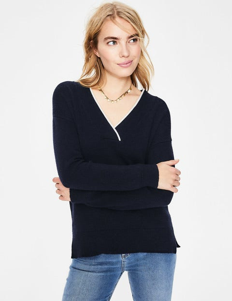 Ophelia Sweater - Navy