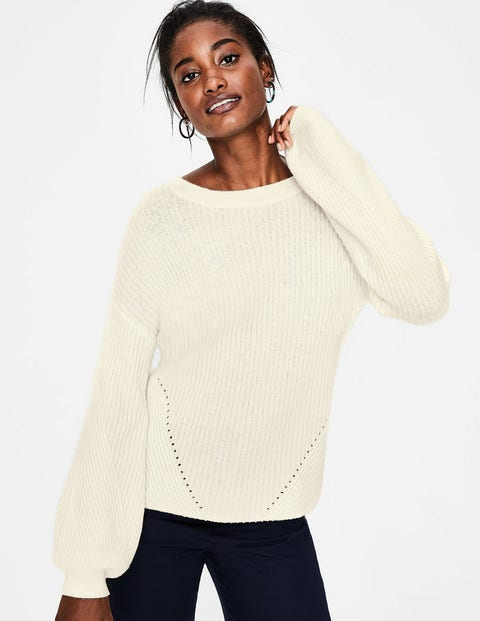 Eve Jumper - Ivory