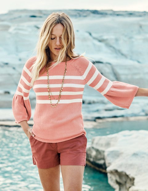 Arianna Sweater - Chalky Pink