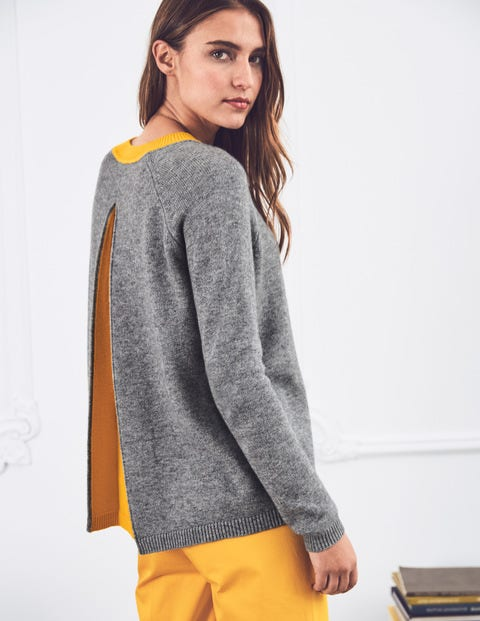 Mollie Jumper - Grey Melange