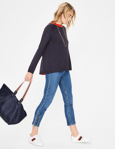 Mollie Jumper - Navy