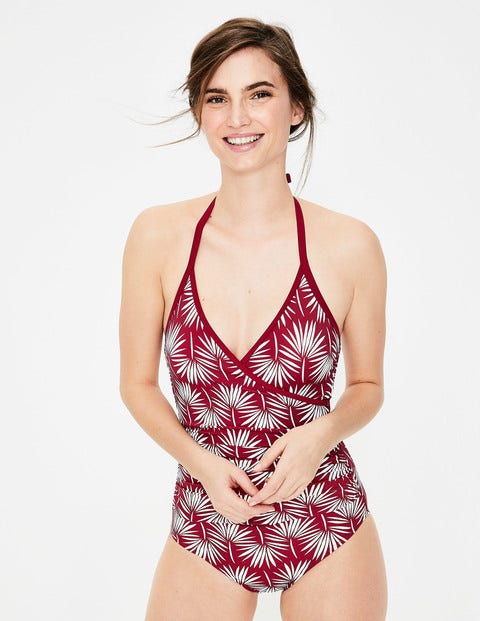 Eros Swimsuit - Red Leaf