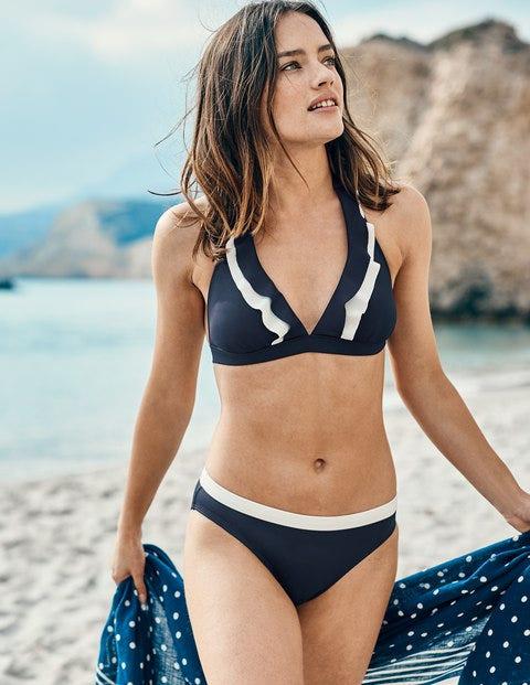 Mykonos Bikini Top - Navy