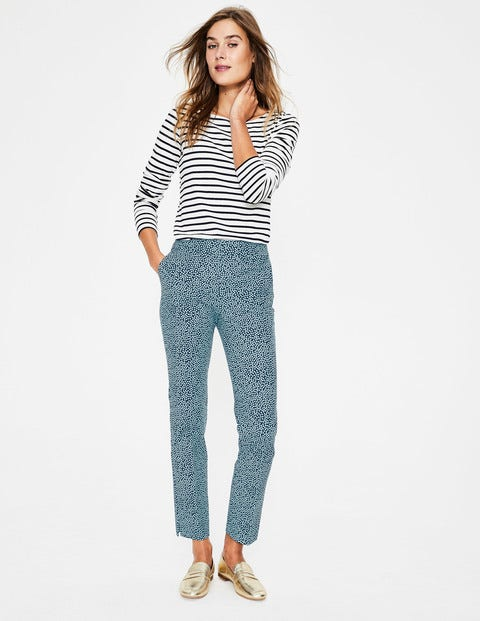Richmond 7/8 Pants - Heron Blue, Cluster Spot