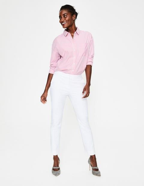 Richmond 7/8 Trousers - White