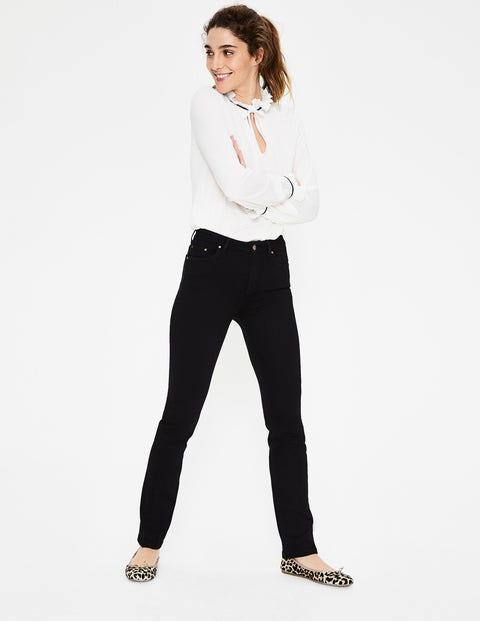 Trafalgar Straight Leg Jeans - Black