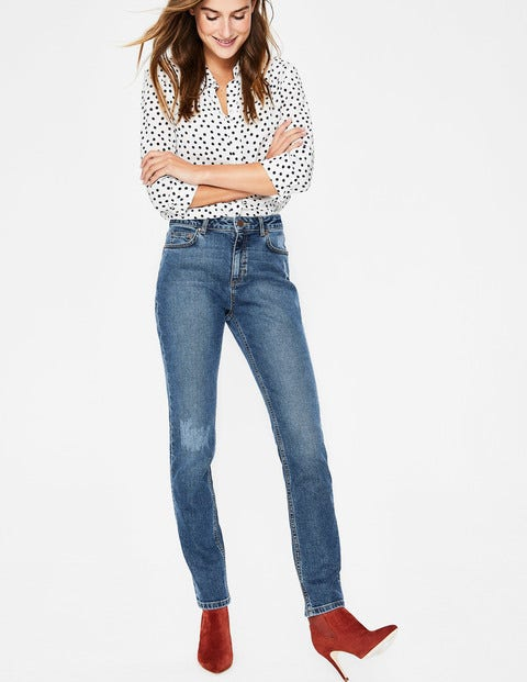 Cavendish Girlfriend Jeans - Distressed