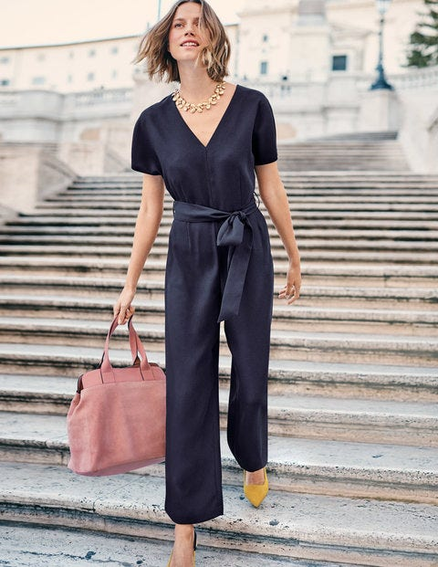 Romilly Jumpsuit - Navy