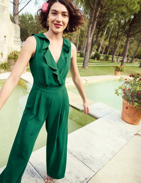 Dolly Jumpsuit - Forest