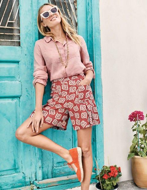 Linen Shirt - Chalky Pink
