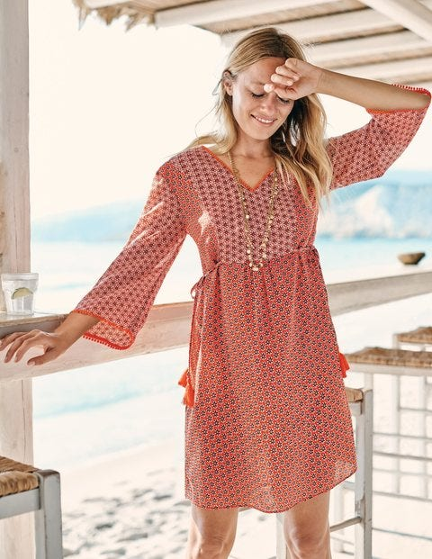 Sasha Kaftan - Red Pop Zinnia
