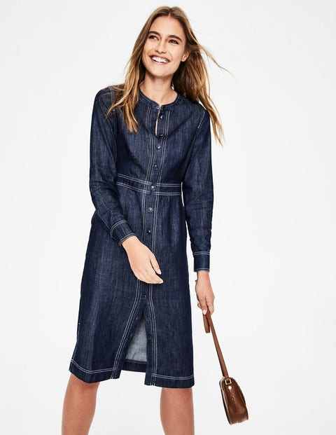 Sara Denim Dress - Indigo