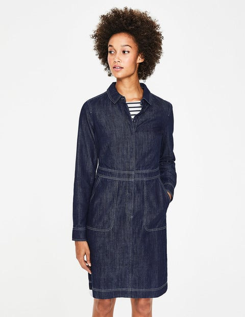 Hattie Denim Dress - Indigo