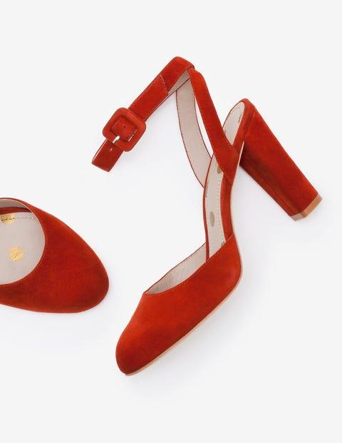 Chaussures à talons Bessie - Marron