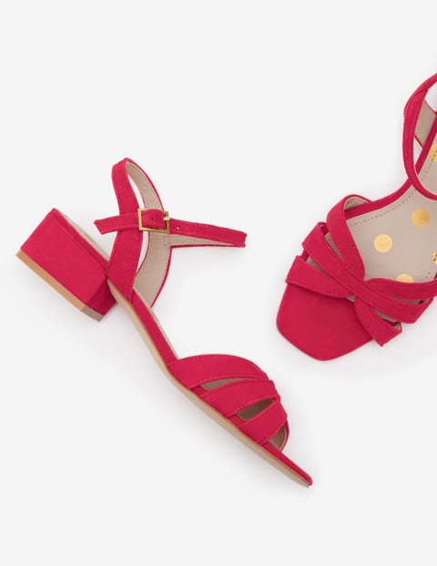 Nerissa Sandals - Dark Rose