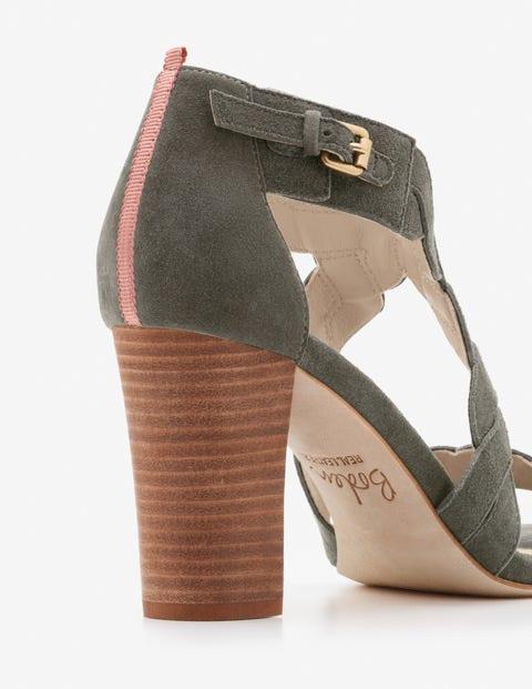Rosalie Heels - Khaki   Boden US