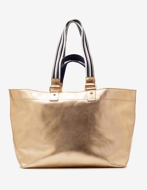 Edinburgh Shopper - Gold Metallic
