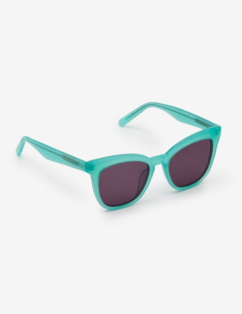 1950s Sunglasses & 50s Glasses   Retro Cat Eye Sunglasses Madrid Sunglasses Green Women Boden Green �70.00 AT vintagedancer.com
