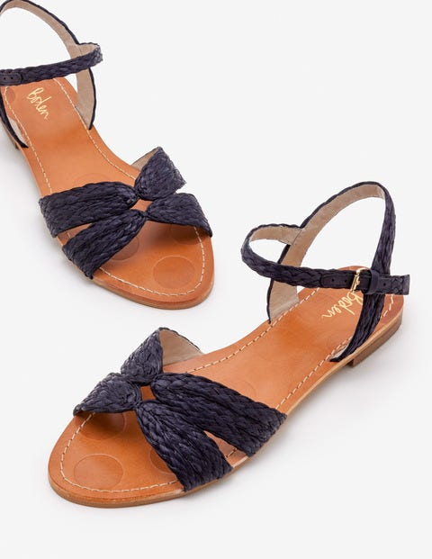 Beatrix Sandals - Navy