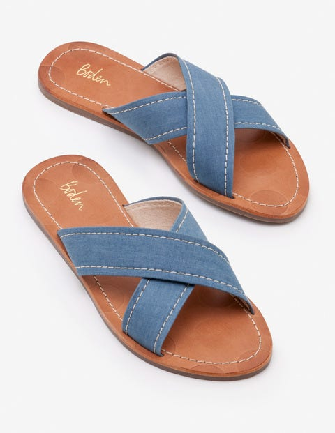 Lizzie Slides - Chambray