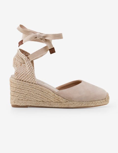 f52fc87f9c9 Cassie Espadrille Wedges - Oatmeal | Boden AU
