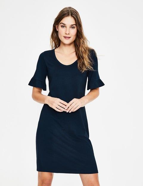 Imogen Jersey Dress - Navy