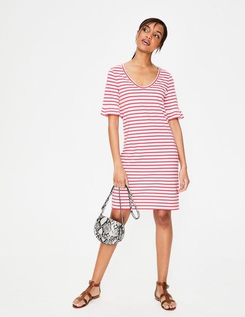 Imogen Jerseykleid Pink Damen Boden, Pink