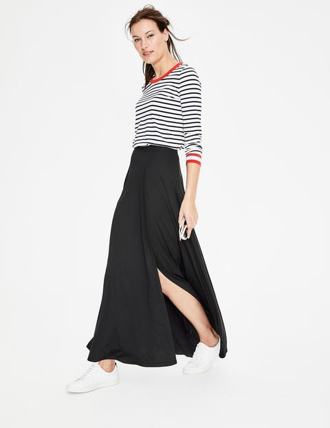 1a9a541e7 Albany Jersey Maxi Skirt - Black | Boden US