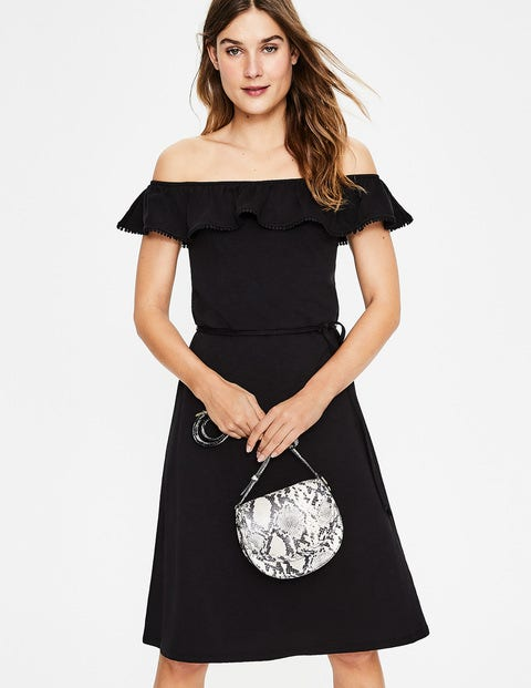 Bethany Jersey Dress - Black