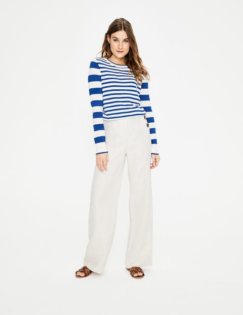 Lydia Jumper - Cobalt Blue Stripe