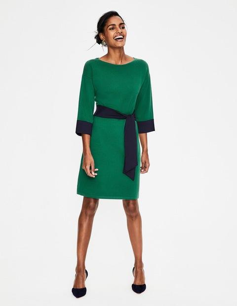 Esmeralda Knitted Dress - Forest