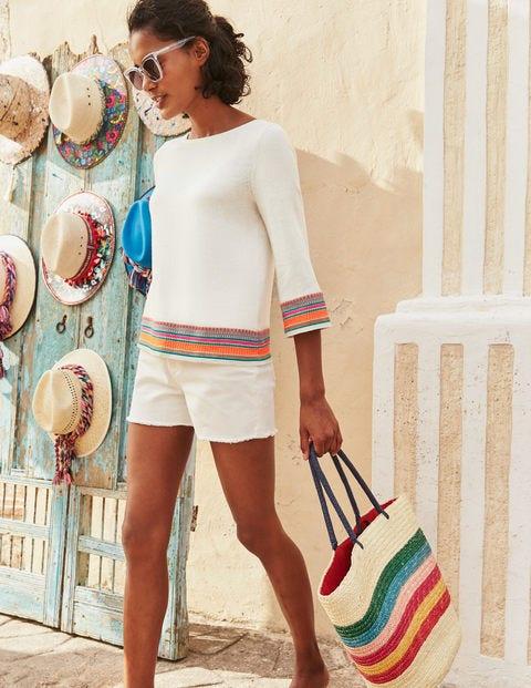 Colette Embroidered Jumper