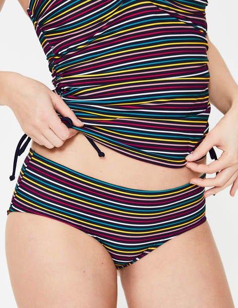 Bikinishorts Zum Kombinieren - Schmale Streifen