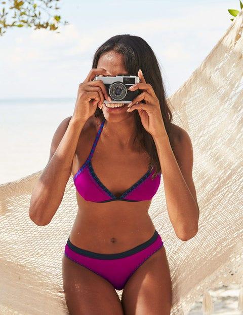 Sicily Bikini Top - Magenta