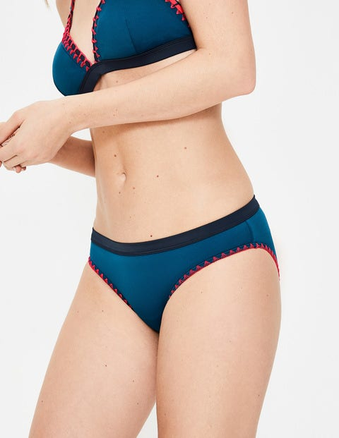 Sicily Bikinihöschen - Tintenblau