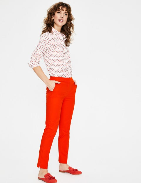 Richmond 7/8 Trousers - Red Pop