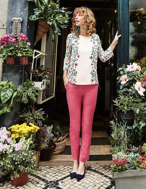 Richmond 7/8 Trousers - Garden Rose