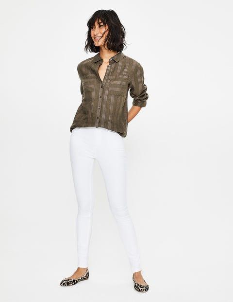 Mayfair Modern Skinny Jeans - White